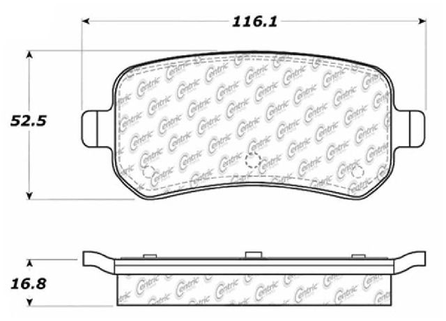 Go-Parts OE Replacement for 2004-2007 Ford Freestar Rear