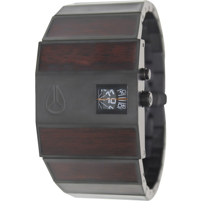 Nixon Men's Rotolog A0281107 Brown Stainless-Steel Quartz Fashion Watch