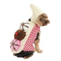 Dog Banana Split Costume Pet Ice Cream Sundae Outfit Large ...