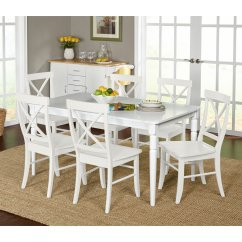 White Dining Room Chairs Target Eddie Bauer Outdoor Chair Marketing Systems Albury 7 Piece Table Set Walmart Com