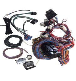 brand new 20 circuit wiring harness kit fits for ford chevy jeep mopar walmart com [ 1000 x 1000 Pixel ]