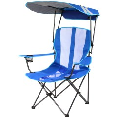 Chair With Canopy Red And Ottoman Kelsyus Original Royal Blue Walmart Com