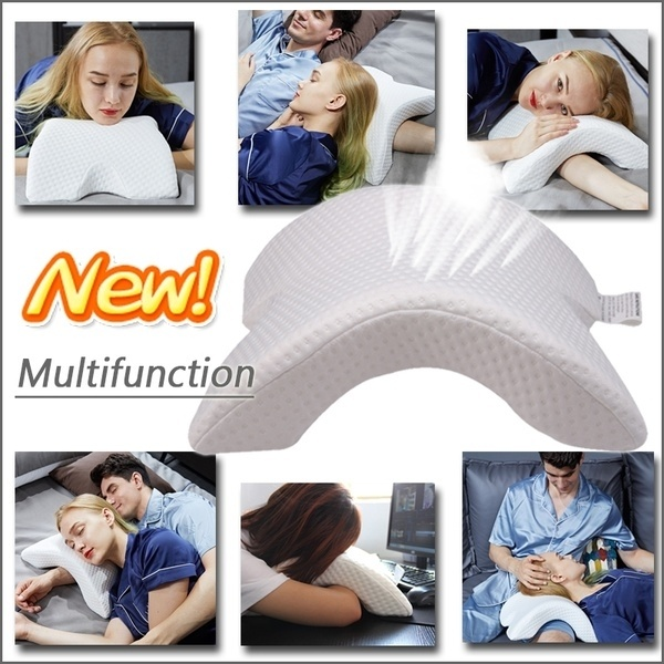memory foam pillow for sleeping pillows for neck and shoulder pain ergonomic orthopedic sleeping neck support pillow for side sleepers back and