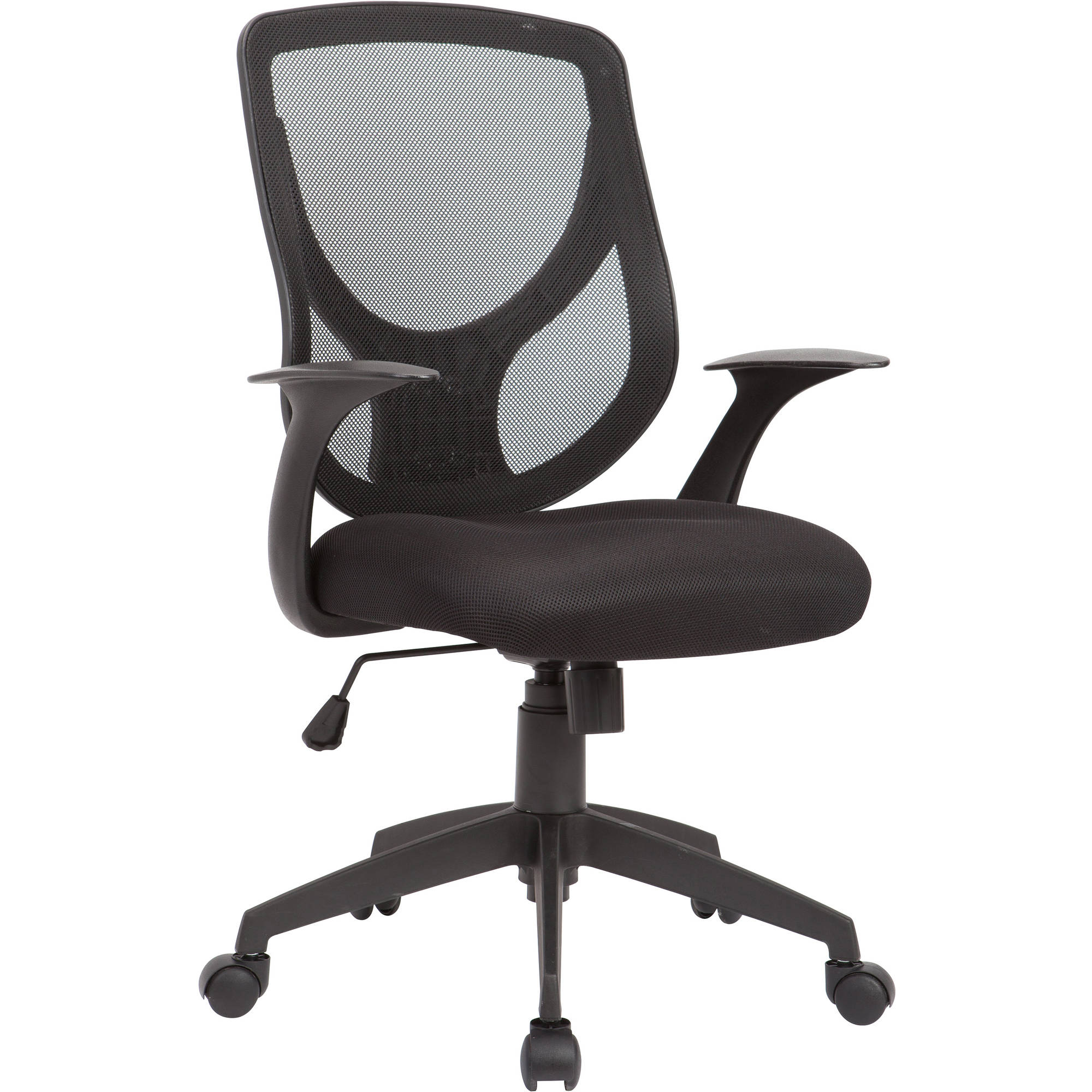How To Adjust Office Chair Ac Pacific Adjustable Swivel Office Chair Mesh Seat And Back Black
