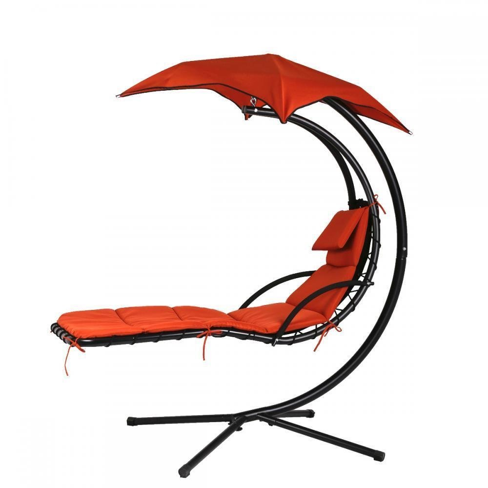 swing hammock chair with stand swivel sale hanging chaise lounger arc air porch canopy walmart com