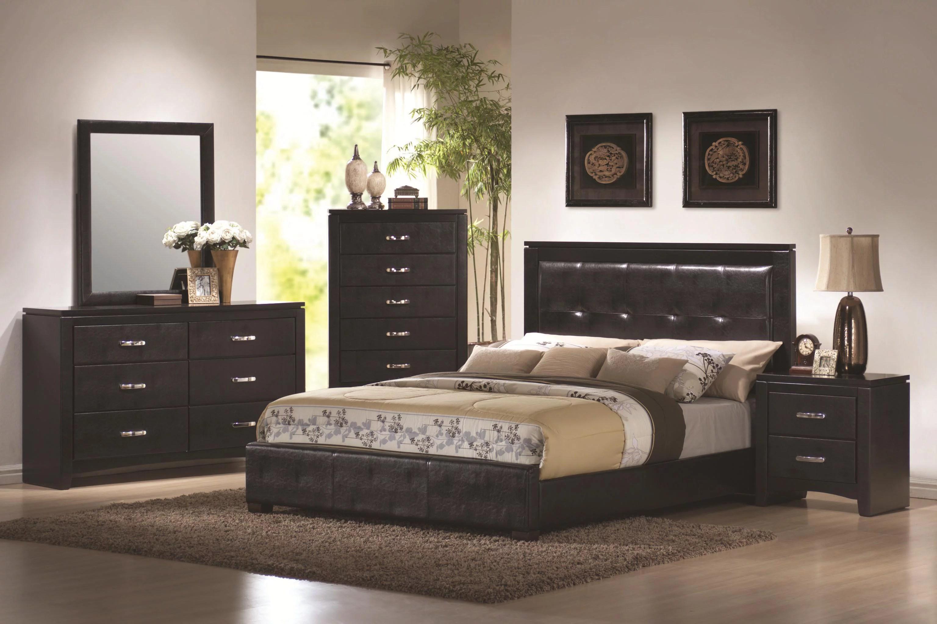 dylan 5 piece bedroom set-size:queen - walmart