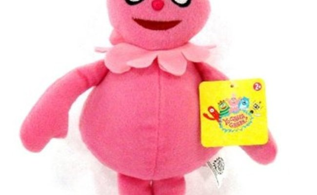 Foofa 11 Plush Foofa Stands 11 Tall By Yo Gabba Gabba