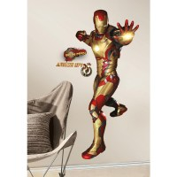 Iron Man 3 Peel-and-Stick Giant Wall Decals - Walmart.com