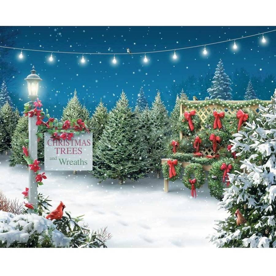 Springbok Christmas Tree Lane 1000 Piece Jigsaw Puzzle