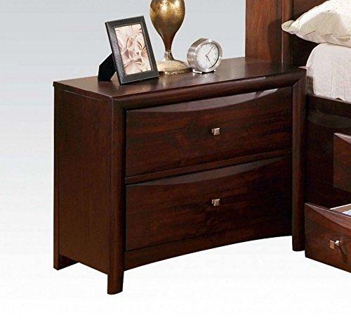 acme manhattan nightstand espresso finish espresso style