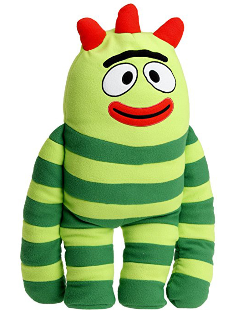 Yo Gabba Gabba Brobee Large Kids Cuddle Pillow Plush Toy