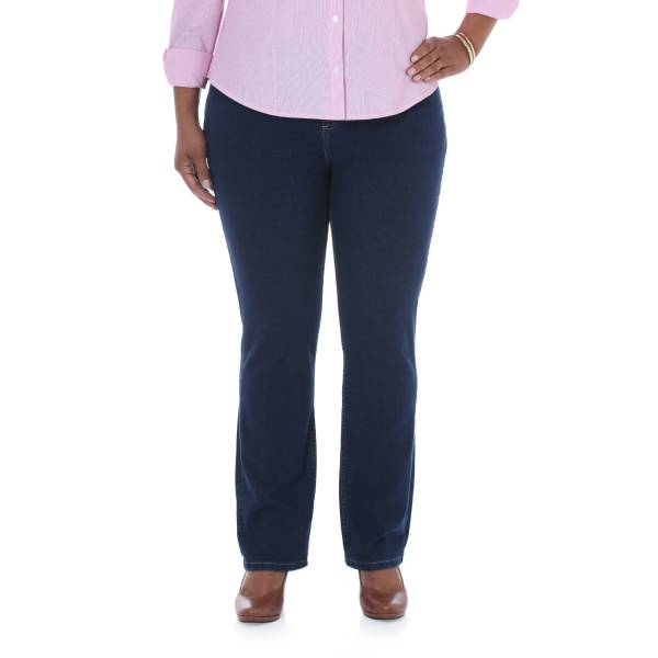 Lee Riders - Women' -size Comfort-fit Straight Leg Jeans In Medium Petite And