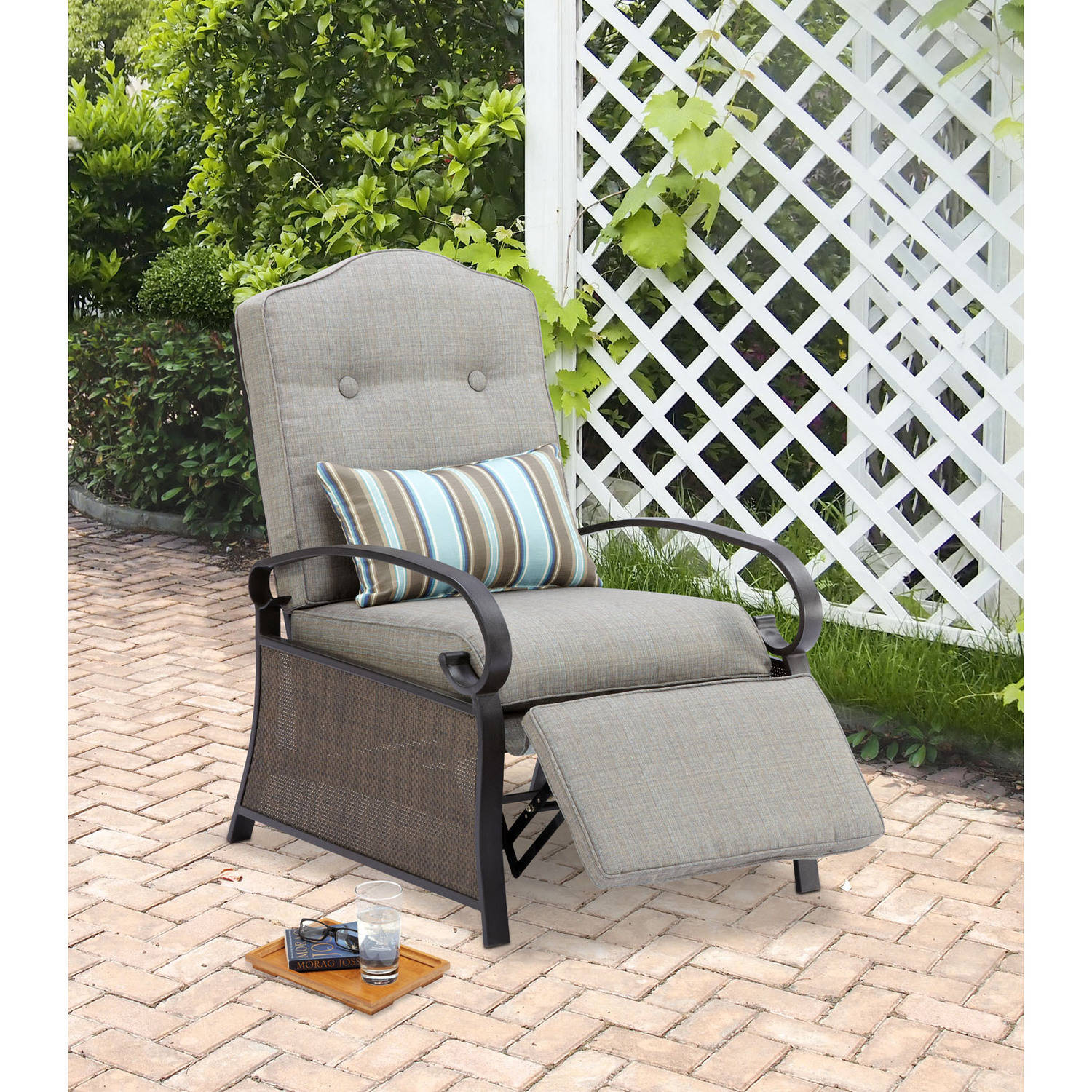 wicker porch chair cushions leg covers canadian tire mainstays outdoor recliner ashwood walmart com