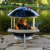 Weber 2726 Black Fireplace - Walmart.com