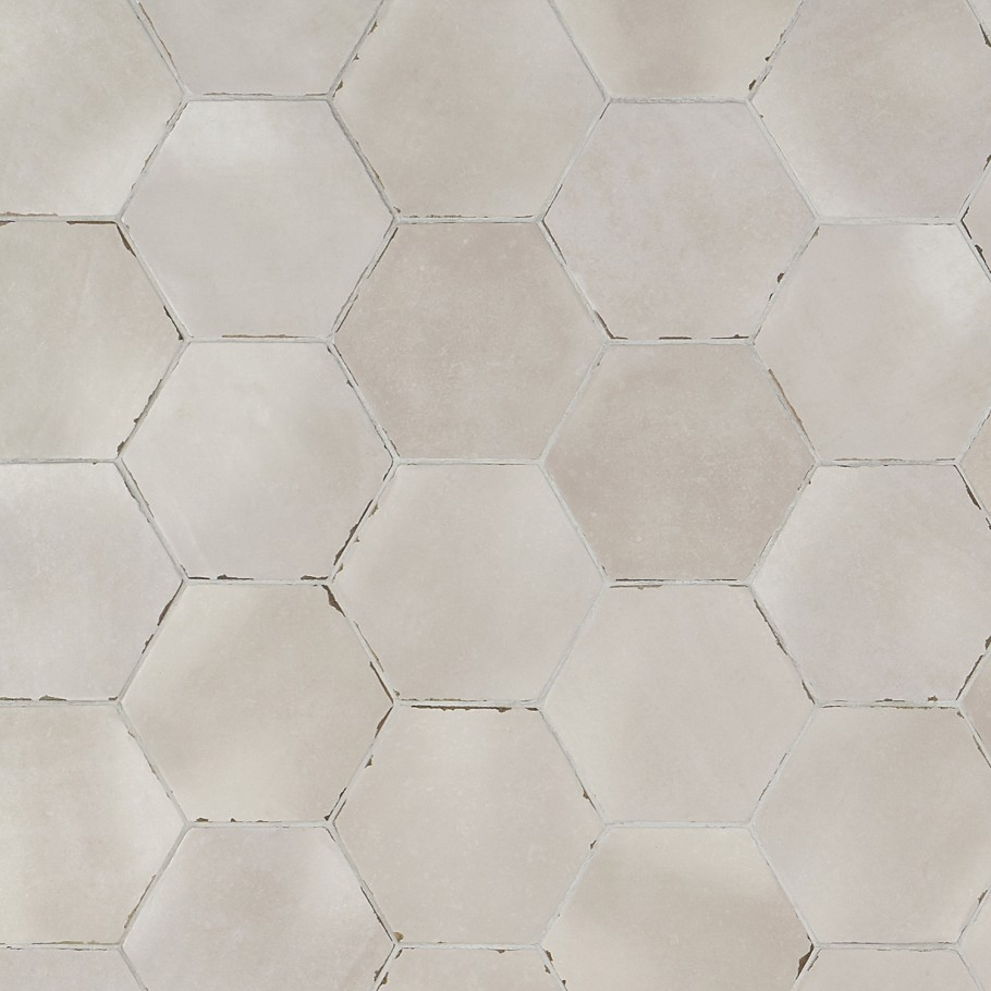 bond tile palo alto hex taupe 5 5 in x 6 in porcelain floor and wall tile 5 38 sq ft case