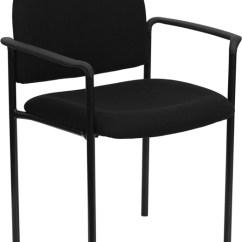 Chair Cba Steel Folding Weight Limit Black Fabric Metal Stack Walmart Com