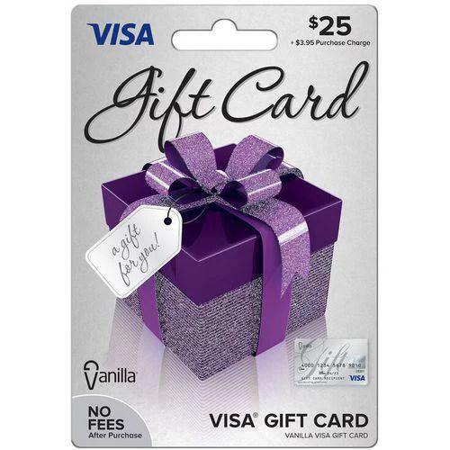 Visa 25 Gift Card