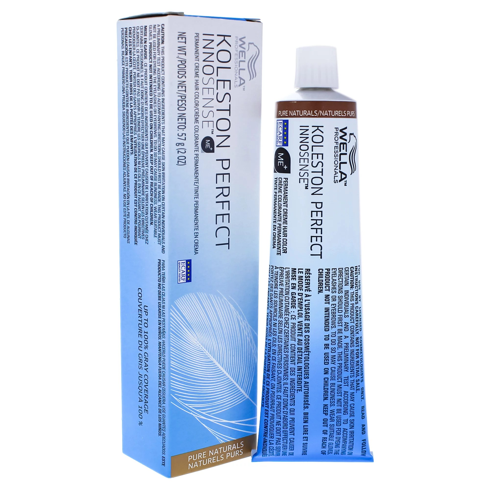 Koleston Perfect Innosense Permanent Creme Hair Color – 5 0 Light Brown-Natural by for Unisex – 2 oz Hair Color