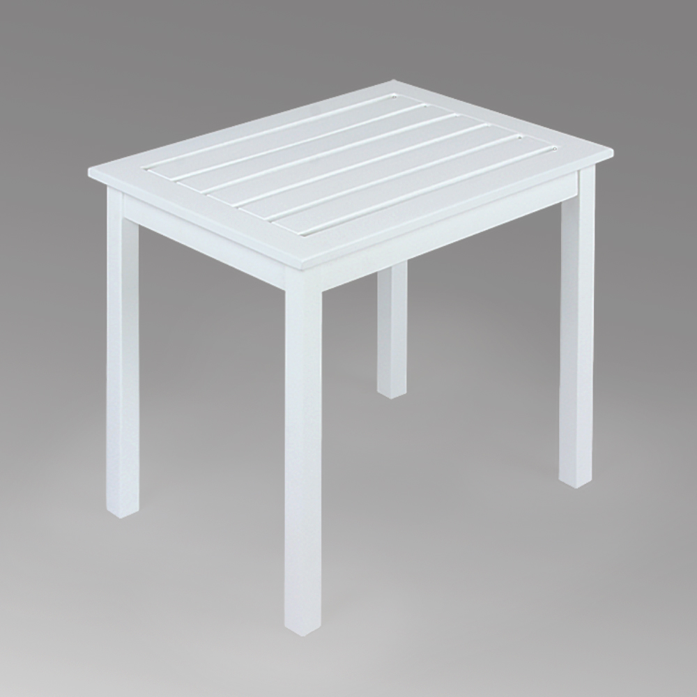 mainstays side table white