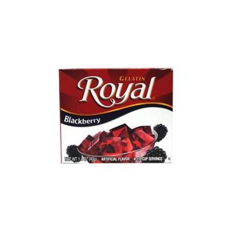 Wholesale Gelain: Royal Blackberry Gelatin Dessert makes an easy, refreshing treat,