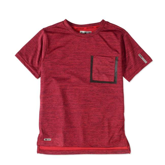 RBX Big Boys' Fashion Active Printed Short Sleeve T-Shirt With Front Pocket