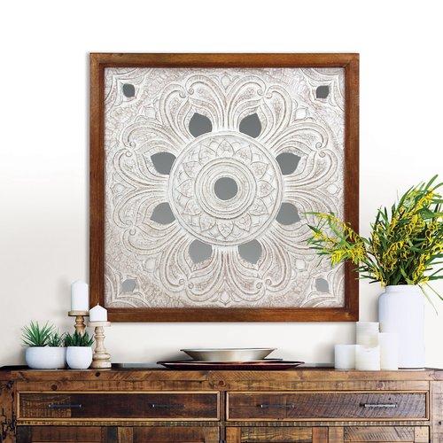 Bungalow Rose Beret Carved Tile Wall Decor Walmart