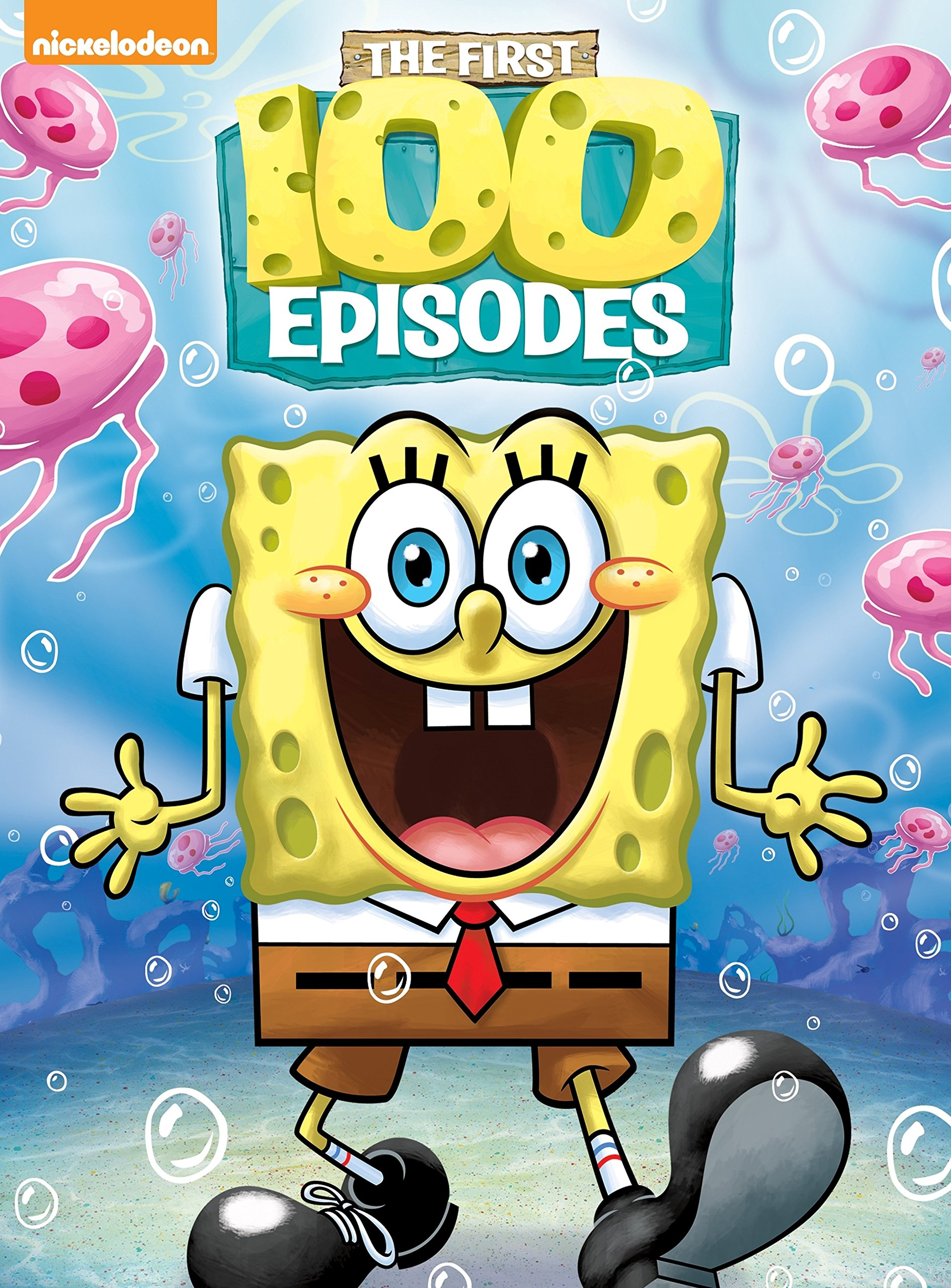 All 12 Seasons Of Spongebob On Dvd : seasons, spongebob, SpongeBob, SquarePants:, First, Episodes, (DVD), Walmart.com