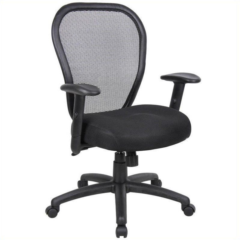ergonomic chair levers herman miller alternative boss office products mesh arm with adjustment lever no shape