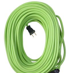 yard master 9940010 outdoor garden extension cord lime green 120 foot [ 994 x 1500 Pixel ]