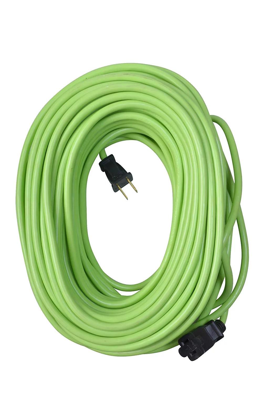 medium resolution of yard master 9940010 outdoor garden extension cord lime green 120 foot