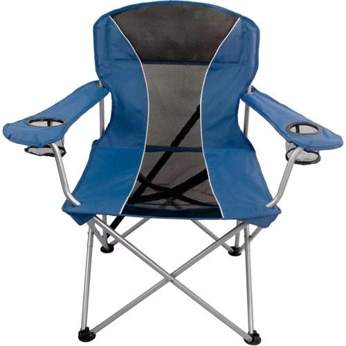 Ozark Trail Navy Premium Chair  Walmartcom