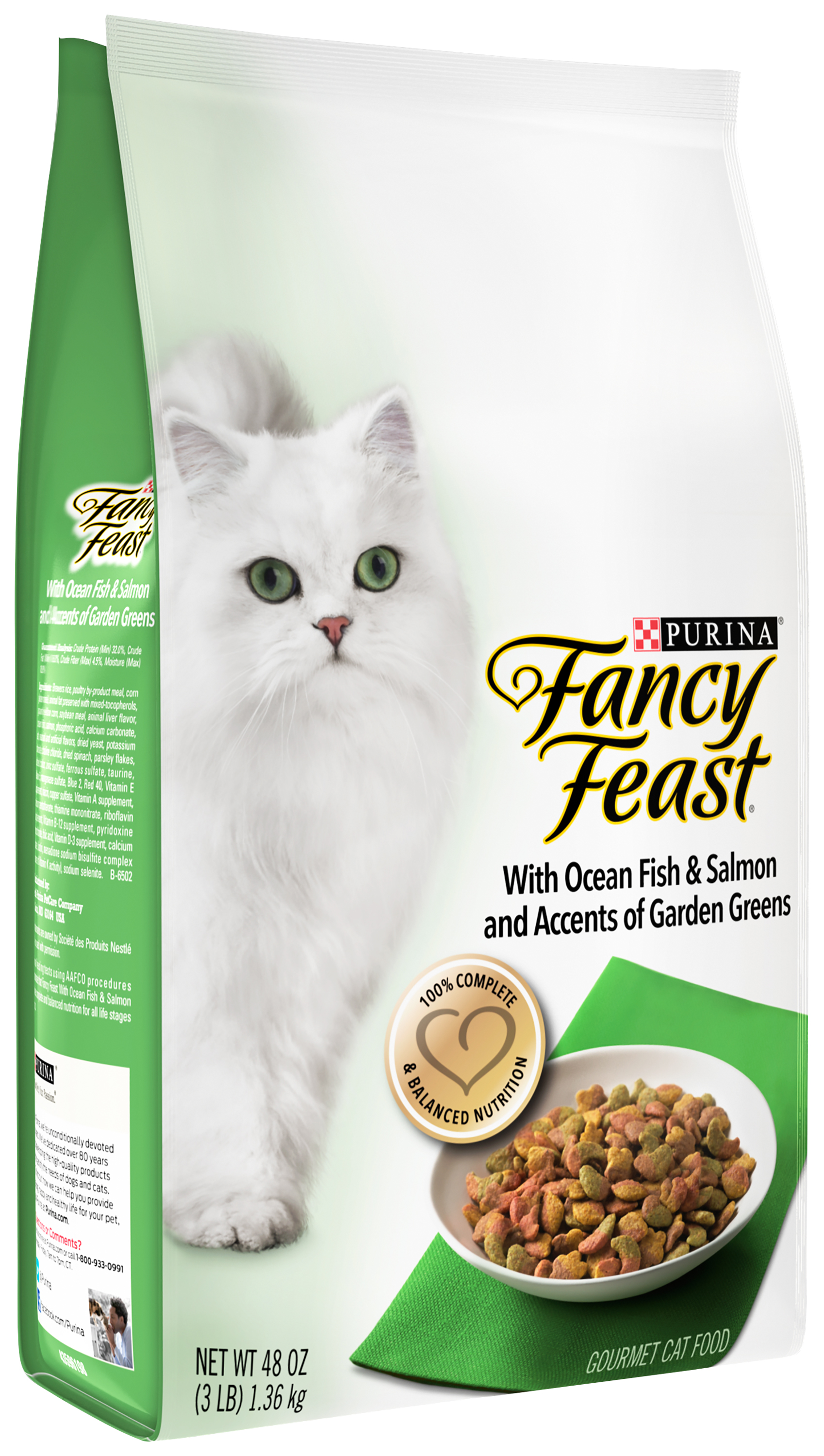 Purina Fancy Feast with Ocean Fish amp Salmon Cat Food 3 lb