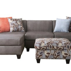 3 Piece Microfiber Sectional Sofa With Chaise Mart Springfield Missouri