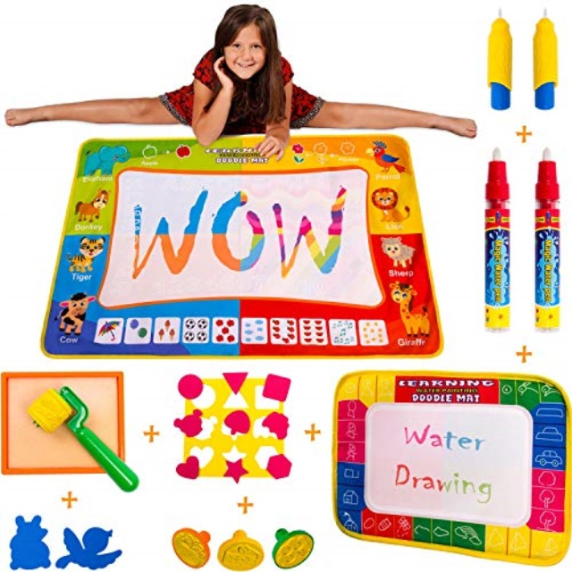Wow Four Design Aquadoodle Mat Aqua Doodle Water Drawing