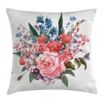 Home Decor Spring Floral Throw Pillow Cases Cushion Covers Ambesonne Home Decor 8 Sizes Home Furniture Diy Tohoku Morinagamilk Co Jp