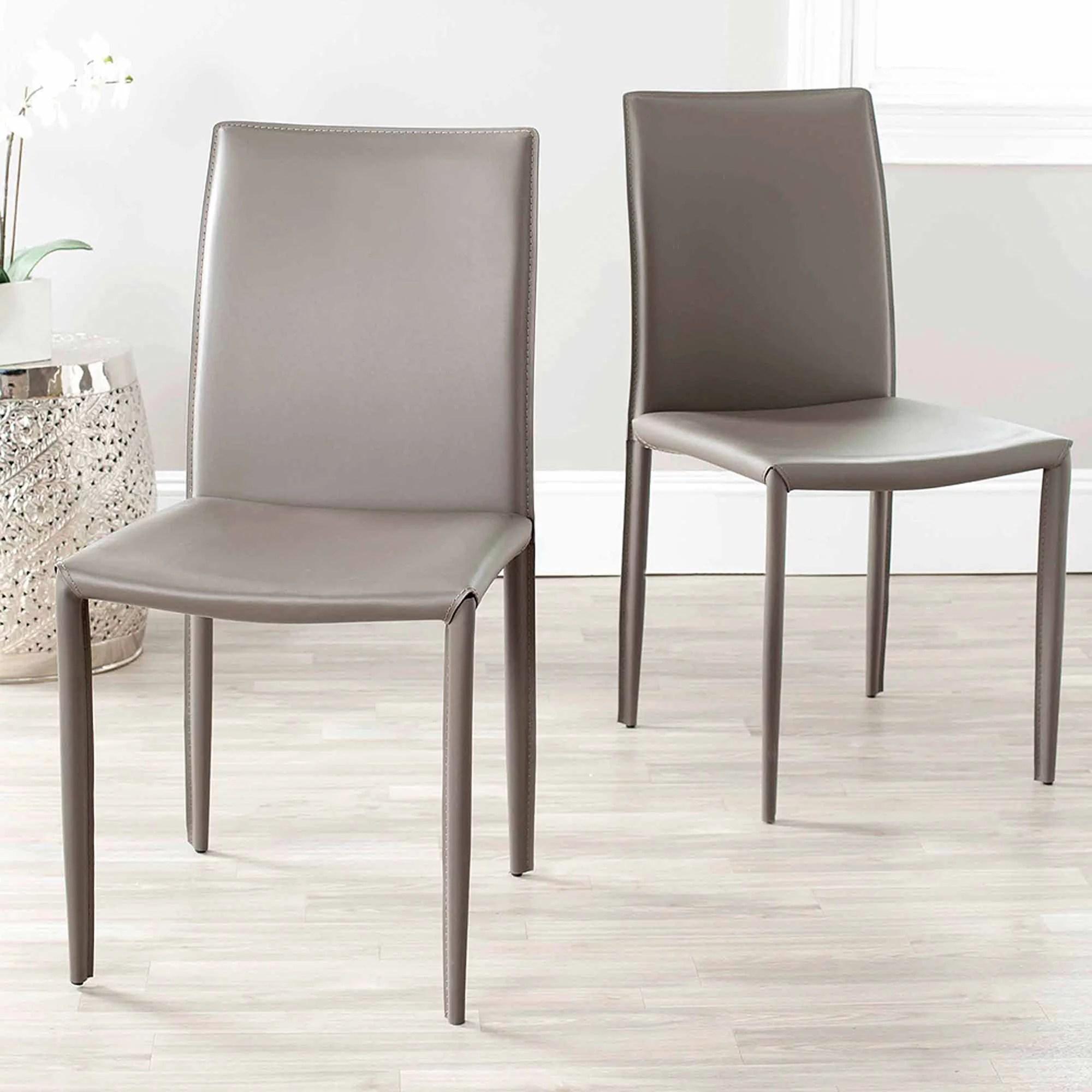 safavieh dining chairs posture seat singapore karna chair set of 2 walmart com