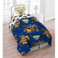 Monster Jam 4pc Bed Set With Bonus Tote - Walmart.com