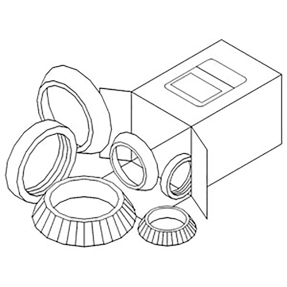 WBKAC4 New Wheel Bearing Kit Fits Allis Chalmers 7010 7020