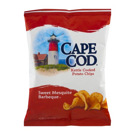 Cape Cod Kettle Cooked Potato Chips Sweet Mesquite Barbeque, 2.5 OZ