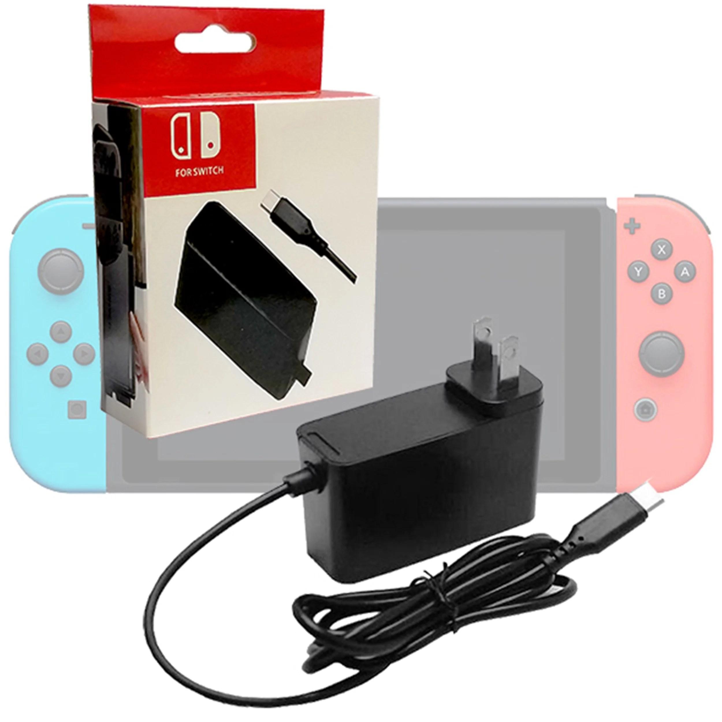 Generic AC Adapter Power Supply for Nintendo Switch Wall & Travel Charger (USA) - Walmart.com - Walmart.com