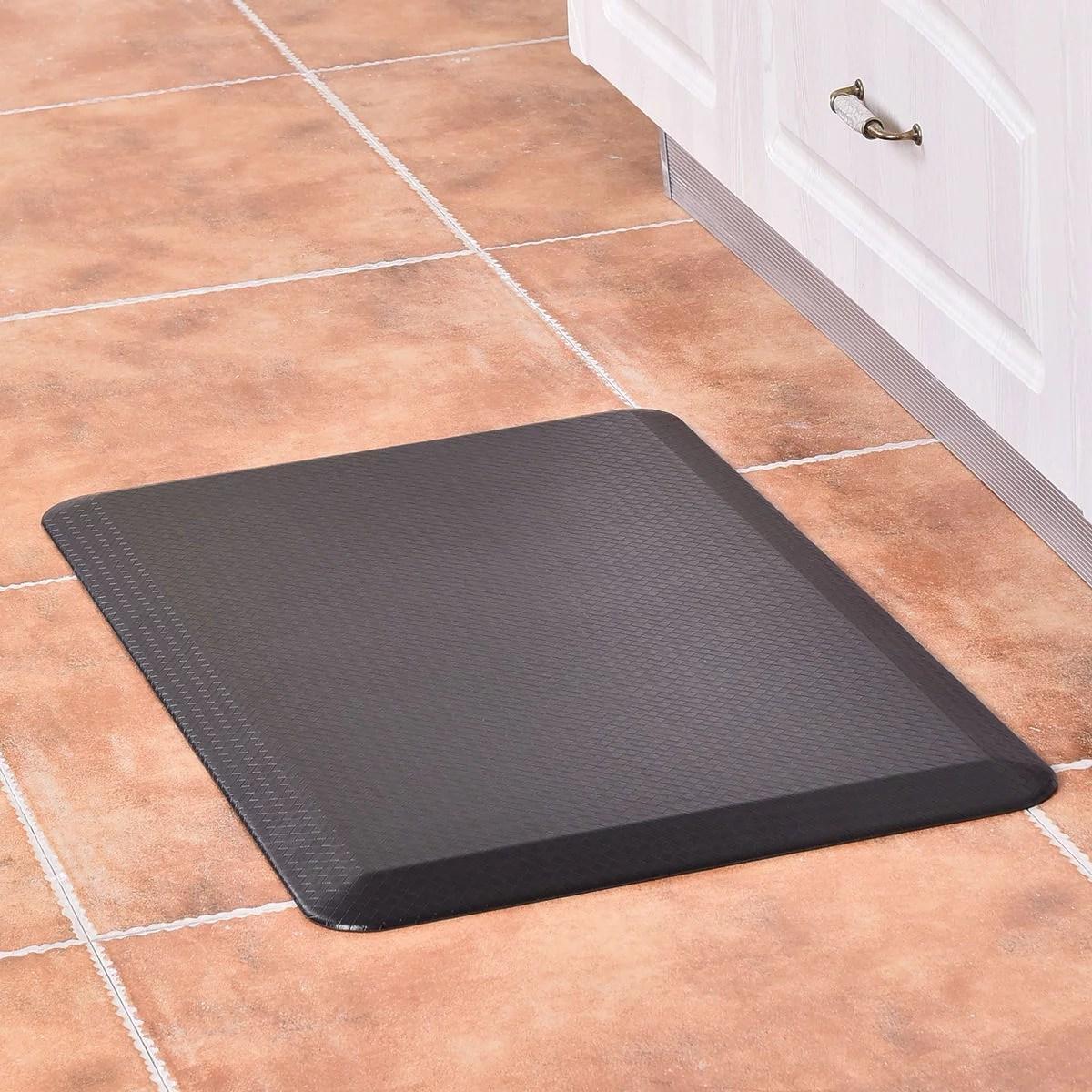kitchen floor mats sponges goplus 3 4 non slip anti fatigue comfort mat