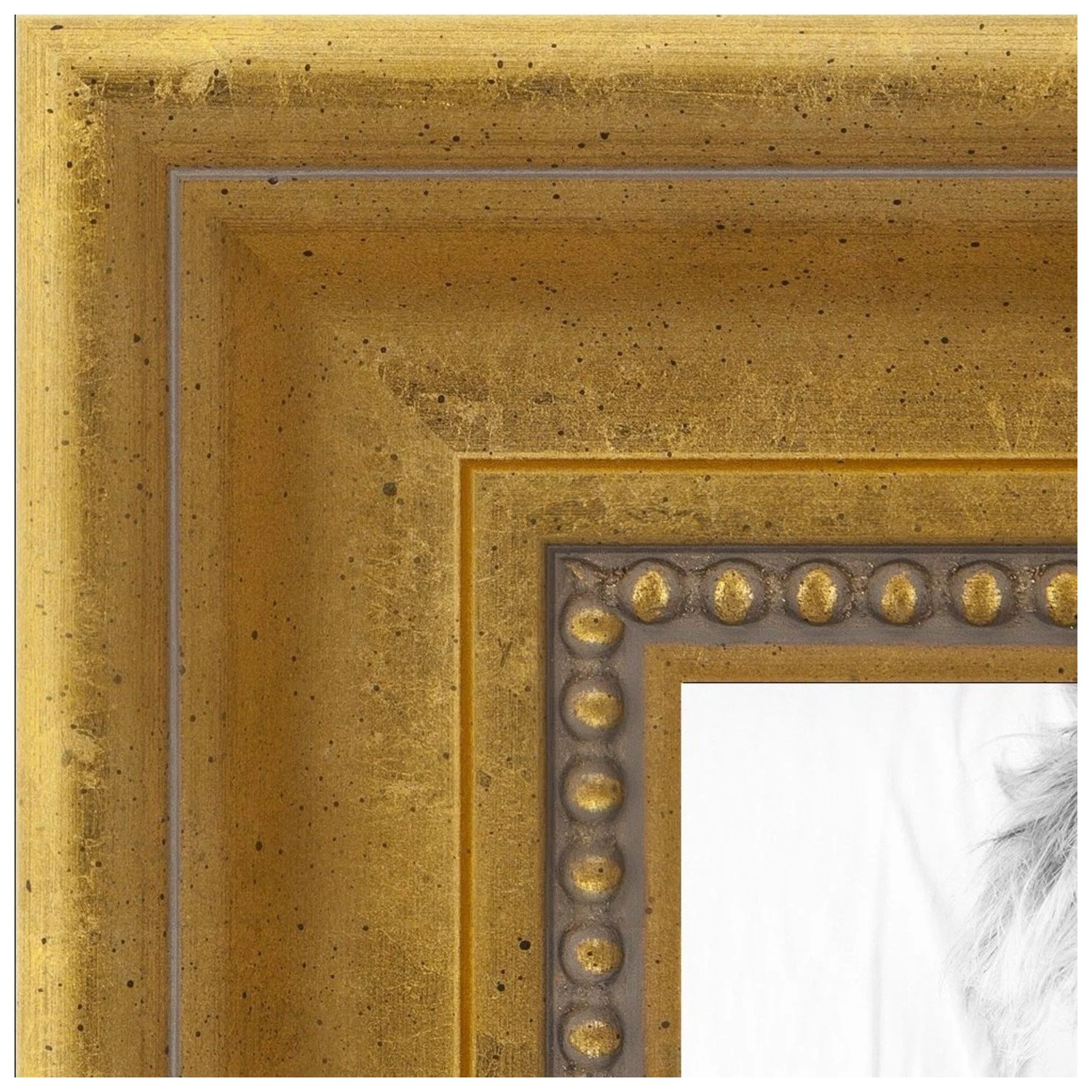 arttoframes 20x30 inch gold picture frame this gold wood poster frame is great for your art or photos comes with 060 plexi glass 2035