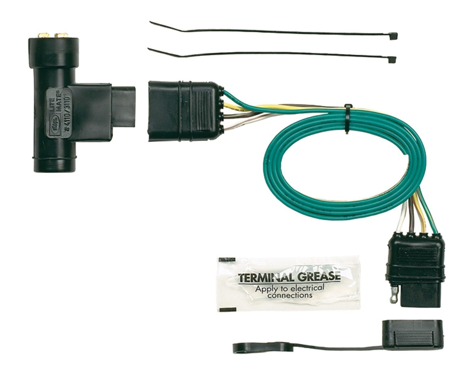 hight resolution of hopkins 41105 plug in simple vehicle wiring kit t connectors allow