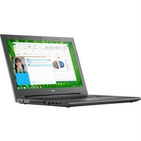 """Dell 15.6"""" Black Vostro 15-3558 VOS35583750 Laptop PC with Intel Core i3-4005U Processor, 4GB Memory, 500GB Hard Drive and Windows 7"""
