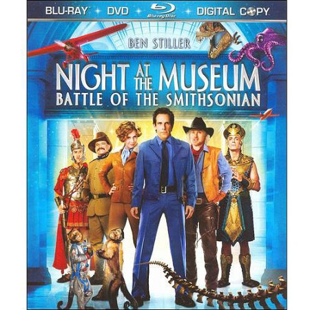 Night At The Museum Battle Of The Smithsonian Blu Ray Dvd Widescreen Walmart Com