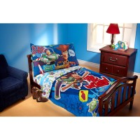 Disney Toy Story Fly to Infinity 4-Piece Toddler Bedding ...