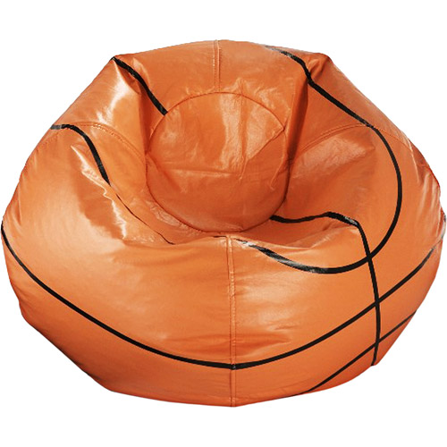 96 Round Vinyl Bean Bag Basketball  Walmartcom