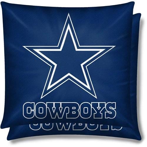 NFL 2pk Pillow Set Dallas Cowboys  Walmartcom