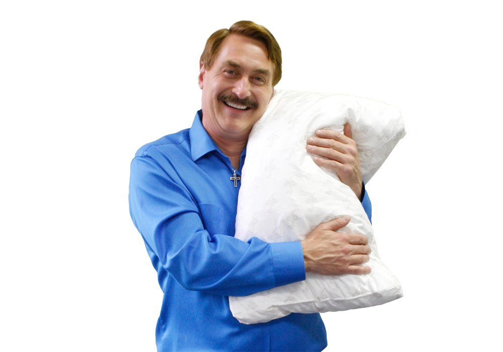 my pillow king size firm fill as seen on tv