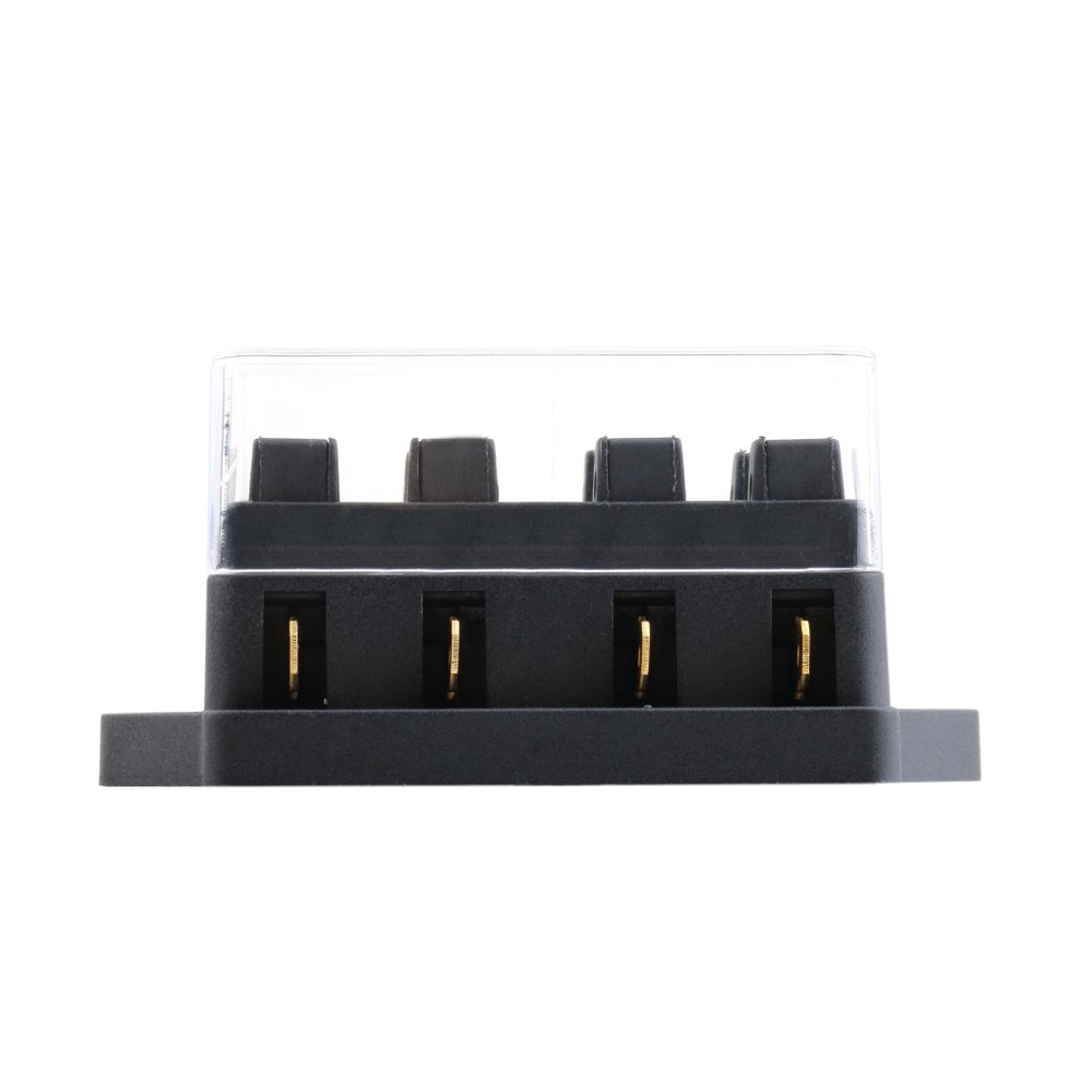 hight resolution of outad 4 way fuse box dc 12v 24v max dc 32v circuit car trailer auto blade fuse box block holder atc ato 2 input 4 ouput wire